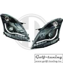 Suzuki Swift 10-17 Фары Devil eyes, Dayline черные