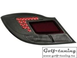 Opel Insignia 08-13 Седан Фонари светодиодные, тонированные
