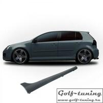 VW Golf 5 Накладки на пороги в стиле GTI