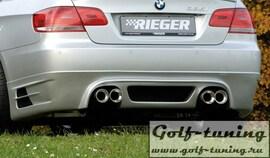 BMW E92/E93 06-10 335I Накладка на задний бампер