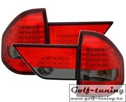 BMW X3 03-06 Фонари светодиодные, красно-тонированные