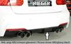 BMW F30/F31 12-15/15- Накладка на задний бампер/диффузор 335i-/340i-Look