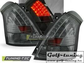 Suzuki Swift 04-10 Фонари светодиодные, тонированные