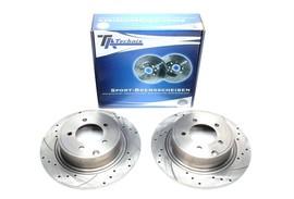 Citroen C4 Aircross/Mitsubishi ASX/Outlander II/Peugeot 4008 Комплект спортивных тормозных дисков
