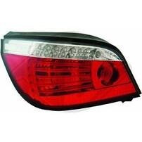 BMW E60 03-07 Фонари светодиодные, красно-белые с бегающим поворотником