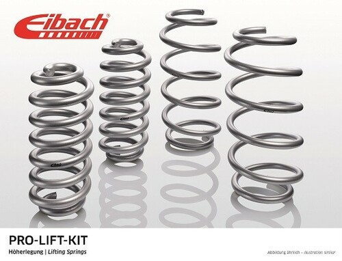 Renault Duster 03- Комплект пружин Eibach Pro-Lift-Kit с завышением +25мм