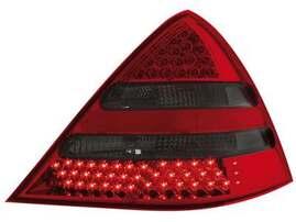 Mercedes SLK R170 96-04 Фонари светодиодные, красно-тонированные