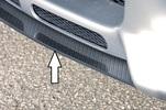 Сплиттер для переднего бампера Rieger 00055235 /36/37/38/33/34/51/52 carbon look
