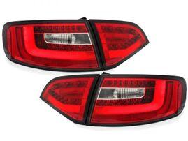 Audi A4 B8 09-12 Универсал Фонари светодиодные, красно-белые