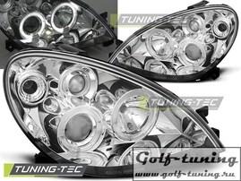 Citroen Xsara 00-04 Фары Angel eyes хром