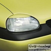 Opel Corsa B Реснички на фары