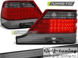 Mercedes W140 95-98 Фонари светодиодные, красно- тонированные