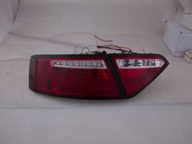 Audi A5 07-11 Фонари светодиодные, красно-белые