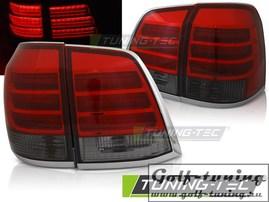 Toyota Land Cruiser 200 07-15 Фонари светодиодные, красно-тонированные