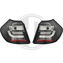 BMW E87 04-07 Фонари Lightbar design черные