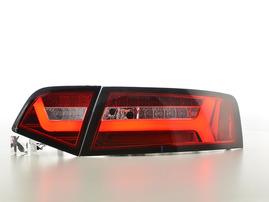 Audi A6 4F Седан 08-11 Фонари светодиодные Lightbar красные
