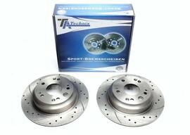 Honda Accord VIII Tourer Комплект спортивных тормозных дисков