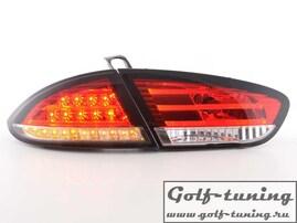 Seat Leon 1P1 09- Фонари светодиодные, красно-белые