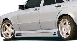 Mercedes W201 Седан 89- Накладки на пороги