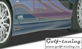 Audi A3 8P Sportback Накладки на пороги GT4
