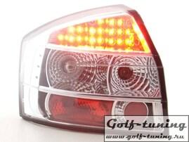 Audi A4 B6 01-03 Фонари светодиодные, хром