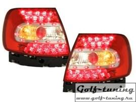 Audi A4 B5 95-00 Фонари светодиодные, красно-белые