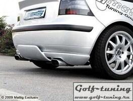 VW Golf 4 Накладка на задний бампер