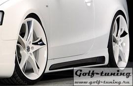 Audi A5/S5 B8/B81 Купе/Кабрио 07-11/11-16 Накладки на пороги carbon look