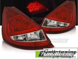 Ford Fiesta MK7 08-12 Хэтчбэк Фонари светодиодные, красно-белые