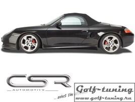 Porsche Boxster 986 Roadster 96- Накладки на пороги