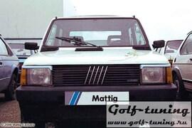 Fiat Panda 91-03 Ресницы на фары