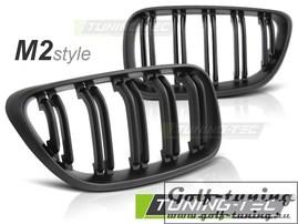 BMW F22/F23 Решетки радиатора/ноздри черные, матовые в стиле М