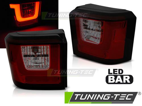 VW T4 90-03 Фонари светодиодные LED BAR, красно-тонированные