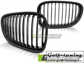 BMW F01 08-12 Решетки радиатора (ноздри) черные, глянец
