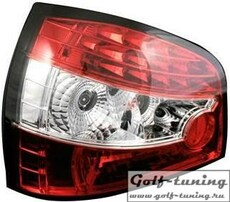 Audi A3 8L 96- Фонари светодиодные, красно-белые