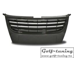 VW Touran 06-10 Решетка без значка черная