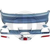 Ford Mustang 14- Бампер задний