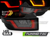 RANGE ROVER EVOQUE 11- Фонари черные, с бегающим поворотником