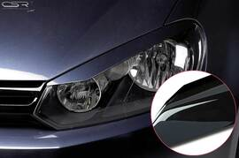VW Golf 6 08-12 Реснички на фары глянцевые