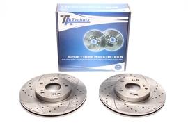 Honda Civic VII 01- Спортивные тормозные диски передние