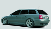 Audi A4 B5 95-01 Универсал Задний бампер