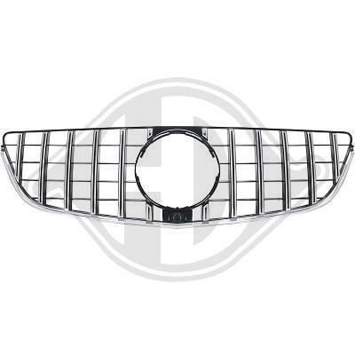 Mercedes C207 13-15 Решетка радиатора GT Look