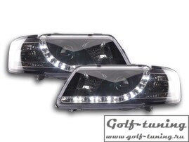 Audi A3 8L 96-00 Фары Devil eyes, Dayline черные