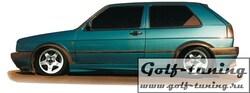 VW Golf 2 3Дв Пороги
