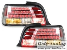 BMW E36 2Дв Фонари светодиодные, хром
