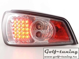 Peugeot 306 93-96 Фонари светодиодные, хром