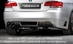 BMW E92/E93 06-10 Накладка на задний бампер/диффузор