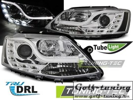 VW Jetta 6 11-15 Фары Tube lights хром