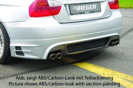 BMW E90/E91 04-11 Накладка на задний бампер