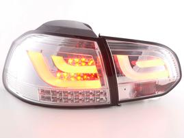 VW Golf 6 Typ 1K 08-12 Фонари светодиодные хром